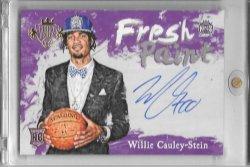 2015-16 Panini Court Kings Willie Cauley Stein Fresh Paint