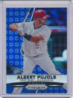 Albert Pujols 2015 Panini Prizm Prizms Blue Baseball