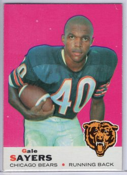 1969 Topps Topps Gale Sayers Base