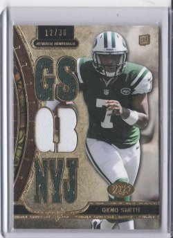 2013 Topps Triple Threads Relics Geno Smith