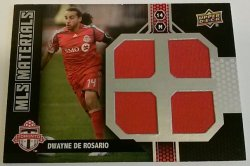 2011 Upper Deck MLS Materials Dwayne De Rosario