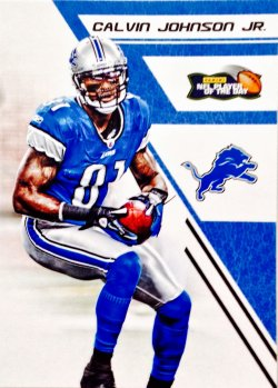 2012 Panini POTD Calvin Johnson