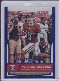 Sterling Shepard 2016 Score Artists Proof RC /35