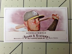 2009 Topps Allen and Ginter  Matt Holliday No Number Number