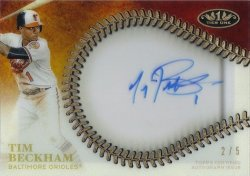 Topps Tier One Tim Beckham