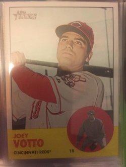 2012 Topps Heritage Joey  Votto