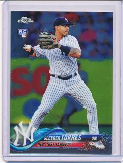 Gleyber Torres 2018 Topps Chrome Update RC HMT26