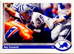 1991 Upper Deck  Ray Crockett