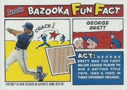 2005 Topps Bazooka Fun Fact Relics