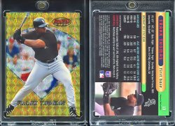 1996  Bowmans Best Atomic Refractor Frank Thomas