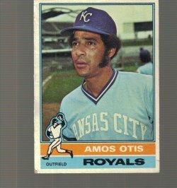1976 Topps Base Amos Otis