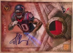 2014 Topps Valor Jadeveon Clowney Shield of Honor RC Patch Auto
