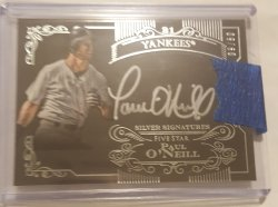 2015 Topps Five Star Paul ONeil