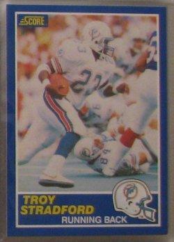 1989 Score  #23 - Troy Stradford