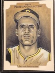 2012 Topps Topps Museum Collection Canvas Collection #CC14 Roberto Clemente