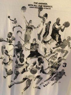 2016  BAIT NAISMITH Memorial HALLofFAME  THE ANSWER ALLEN IVERSON  #3  L T-SHIRT