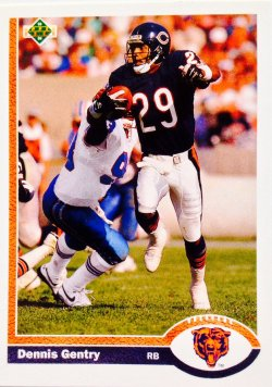 1991 Upper Deck  Dennis Gentry #227