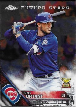 2017 Topps Chrome Update All Rookie Cup Bryant