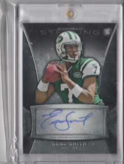 2013 Bowman Sterling Autographs Geno Smith