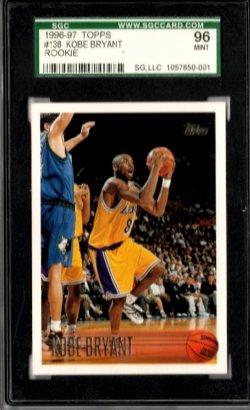 1996-97 Topps  Kobe Bryant
