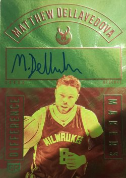 2017-18 Panini Grand Reserve Matthew Dellavedova Difference Makers Auto