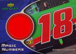 2000 Upper Deck MVP Bobby Labonte