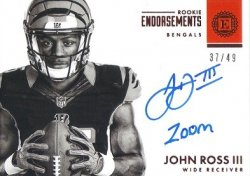John Ross III Inscribed Zoom