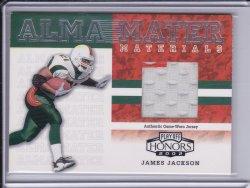 James Jackson 2002 Playoff Honors Alma Mater Materials /400