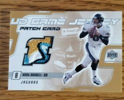 2000 Upper Deck Upper Deck 2000 Upper Deck Football- UD Game Jersey Patch