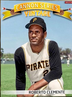 2016 Topps Bunt - Cannon Vintage award (digital) Roberto Clemente