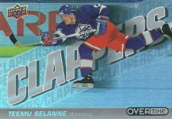 2019/20 Upper Deck Overtime Clappers Selanne