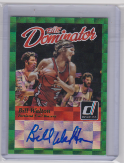 2014-15  Panini donruss elite  bill walton dominator
