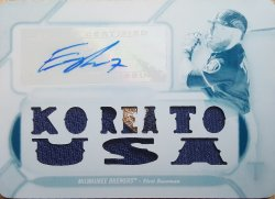 "2017 Topps Triple Threads Eric Thames White Whale ""Korea to USA"""