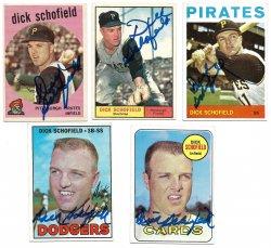 1959, 196 Topps  TTM Dick Schofield 10/18/21