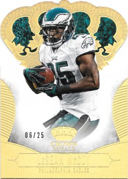 2013 Panini Crown Royale Gold Holofoil LeSean McCoy