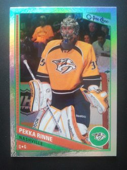 2013-14 O-Pee-Chee  Rainbow Foil #330 Pekka Rinne