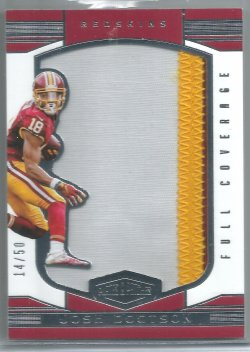2016 Panini Plates and Patches Full Coverage Josh Doctson
