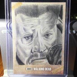 Topps The Walking Dead Evolution Brett Farr Abraham