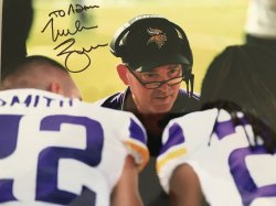Mike Zimmer Personalized 8x10