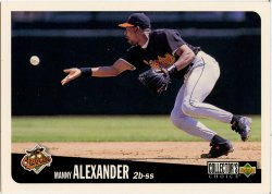 1996 Upper Deck Collectors Choice Alexander, Manny
