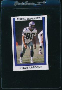 1989 Panini UK Sticker Steve Largent