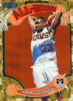 1998 Fleer Ultra All Rookie Derek Anderson 10 of 15