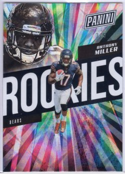 2018 Panini National Convention Anthony Miller Rookies Galactic Windows