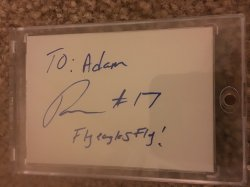 Nelson Agholor Personalized Auto
