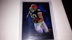 2011 Topps inception peyton hillis