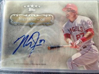 2013 Topps Five Star Mike Trout #BestCard