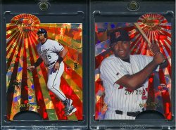 1998  Bowmans Best Mirror Image Fusion Atomic Refactors Frank Thomas David Ortiz
