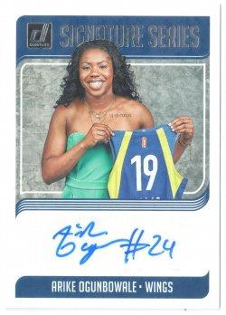 2019 Donruss WNBA Signature Series Arike Ogunbowale