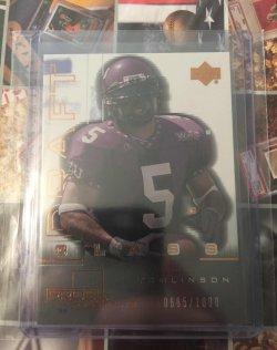 2001 Upper Deck Pros & Prospects Draft Class LaDainian Tomlinson