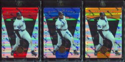 1997   Pinnacle Certified Mirror Rainbow Frank Thomas